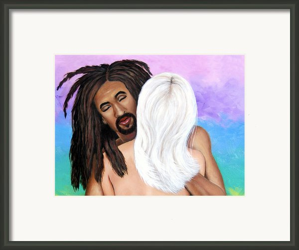 The Color Of Love Ii Framed Print By Donna Proctor