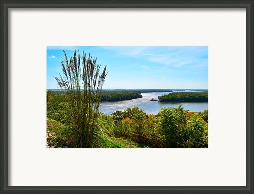 The Confluence  Framed Print By Julie Dant