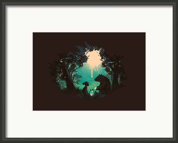 The Conversationalist Framed Print By Budi Satria Kwan