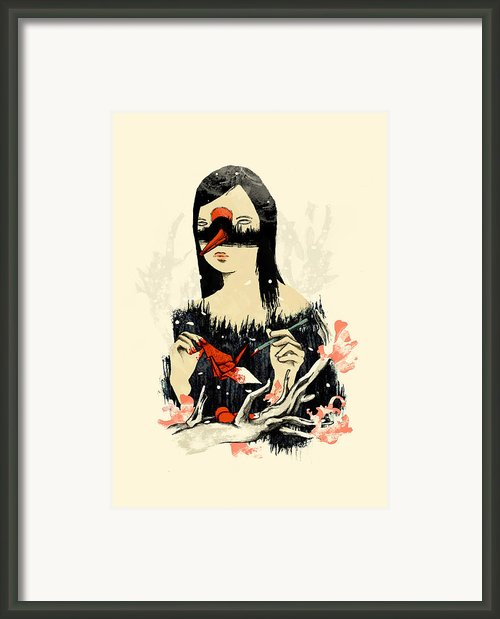 The Crane Wife Framed Print By Budi Satria Kwan