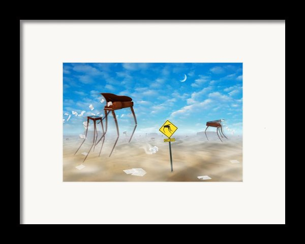 The Crossing Framed Print By Mike Mcglothlen
