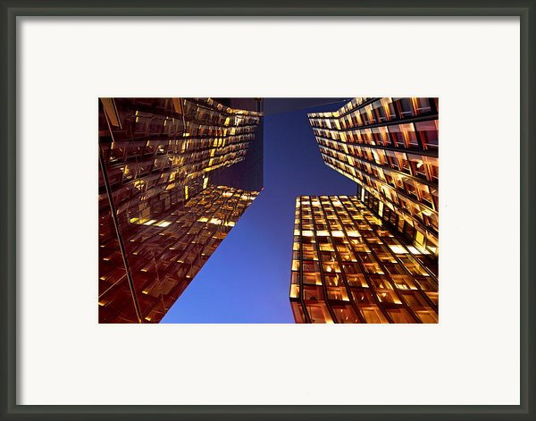 The Dancing Towers Framed Print By Marc Huebner