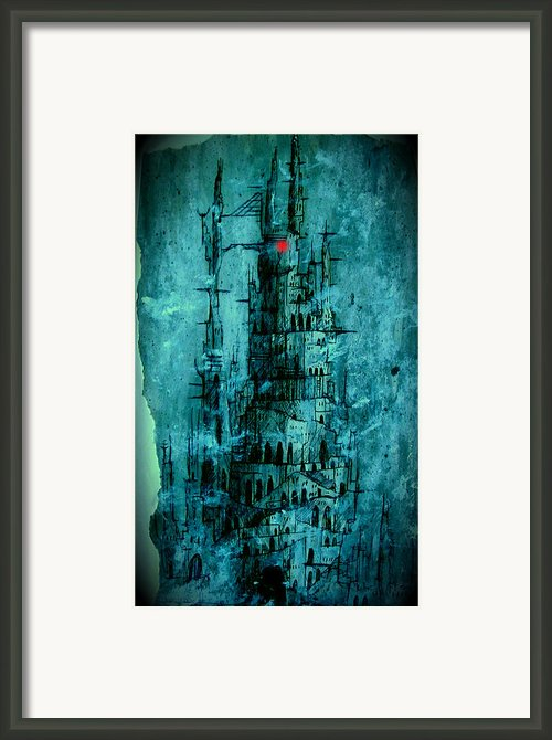 The Dark Tower Framed Print By Joe  Gilronan