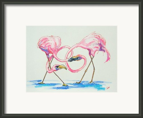 The Dating Game Framed Print By Diane Kraudelt