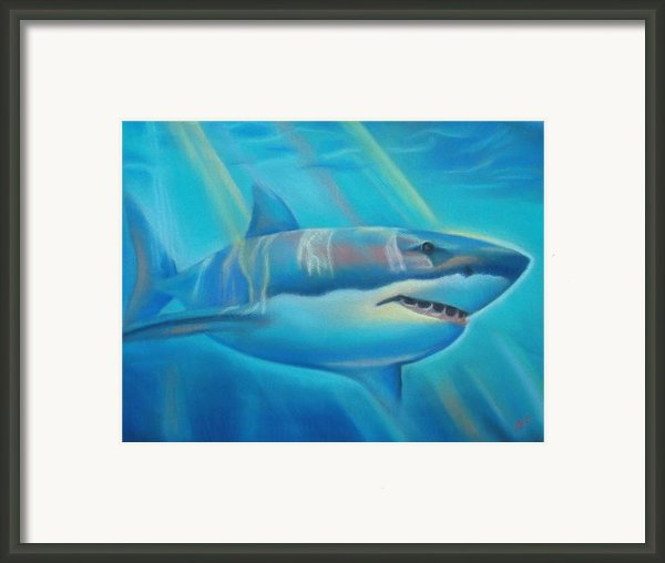 The Deep Framed Print By Joanna Gates