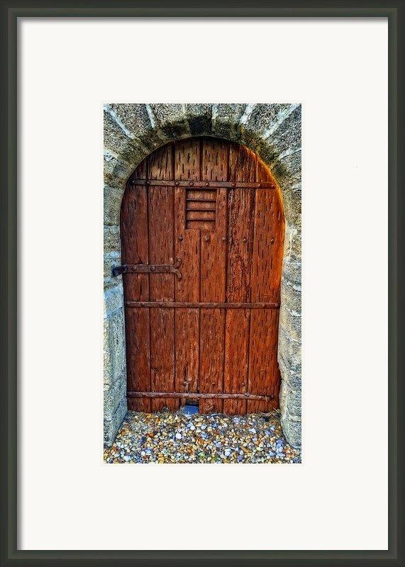 The Door - Vintage Art By Sharon Cummings Framed Print By Sharon Cummings