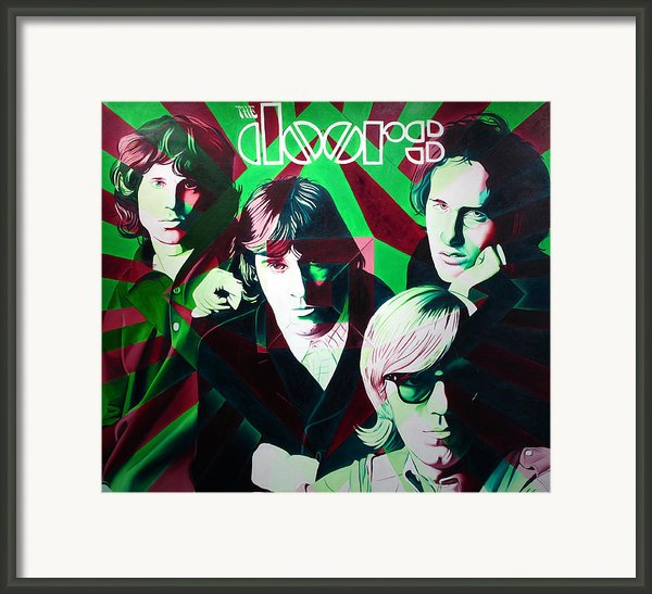 The Doors Framed Print By Joshua Morton
