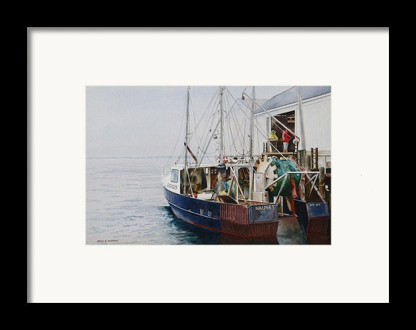 The Dragger Framed Print By Karol Wyckoff