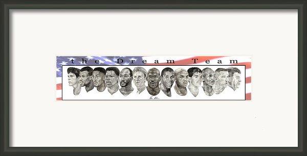 The Dream Team Framed Print By Tamir Barkan