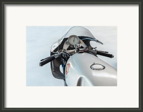 The Ducati Framed Print By Martin Bergsma