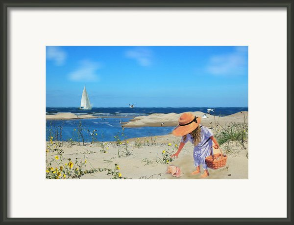 The Dunes Framed Print By Mary Timman