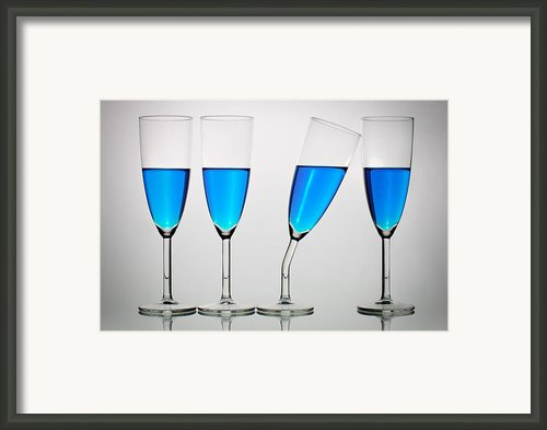 The Eccentric Framed Print By Gert Lavsen