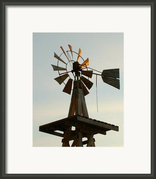 The Eddy House Windmill In Carlsbad Framed Print By Dakota Light Photography By Nadene