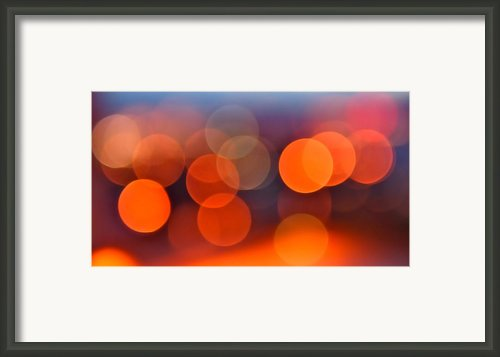 The Edge Of Night Framed Print By Rona Black