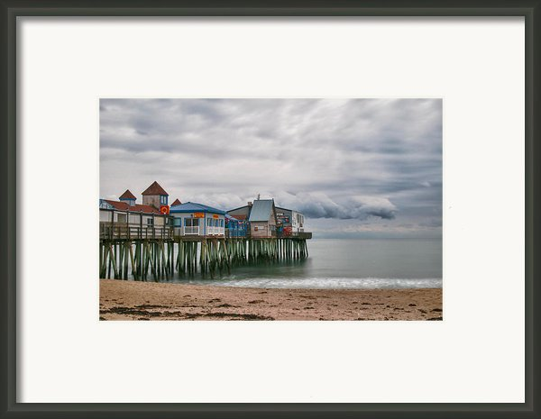 The End Of The Season Framed Print By Guy Whiteley