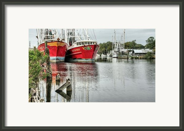 The Enterprise Framed Print By Jc Findley