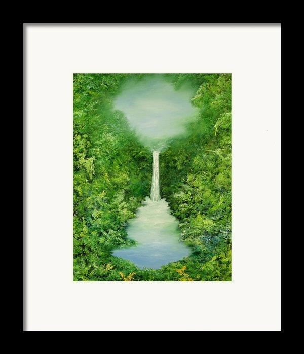 The Everlasting Rain Forest Framed Print By Hannibal Mane