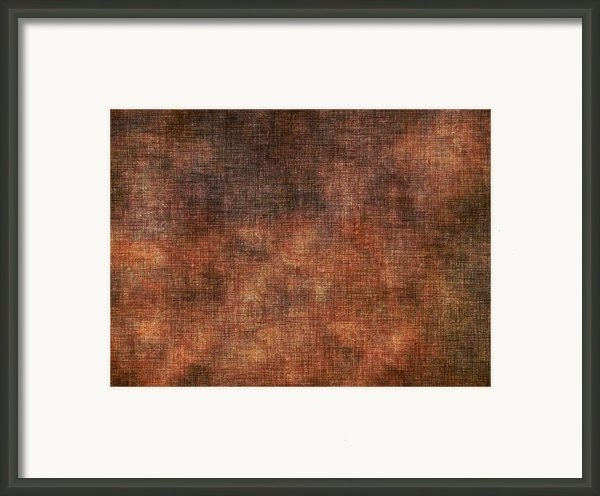 The Fabric Of Time And Space Framed Print By James Barnes