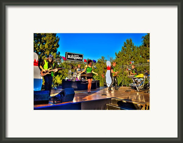 The Fabulous Kingpins Framed Print By David Patterson