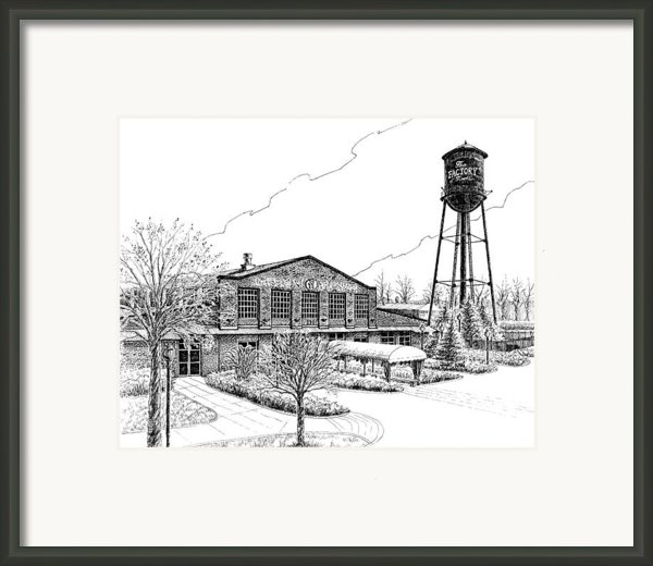 The Factory In Franklin Tennessee Framed Print By Janet King
