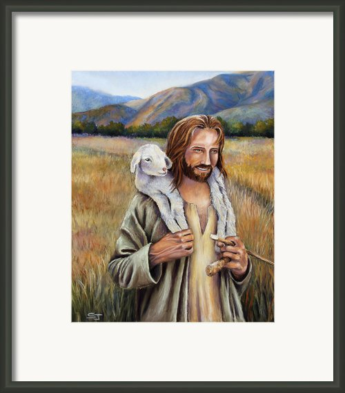 The Faithful Shepherd Framed Print By Susan Jenkins