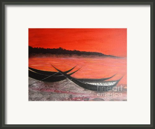 The Farewell Songs Part 1 Framed Print By Prasenjit Dhar
