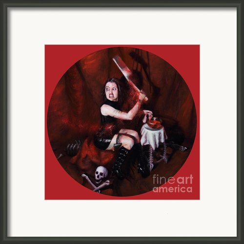 The Fearful Framed Print By Shelley Irish