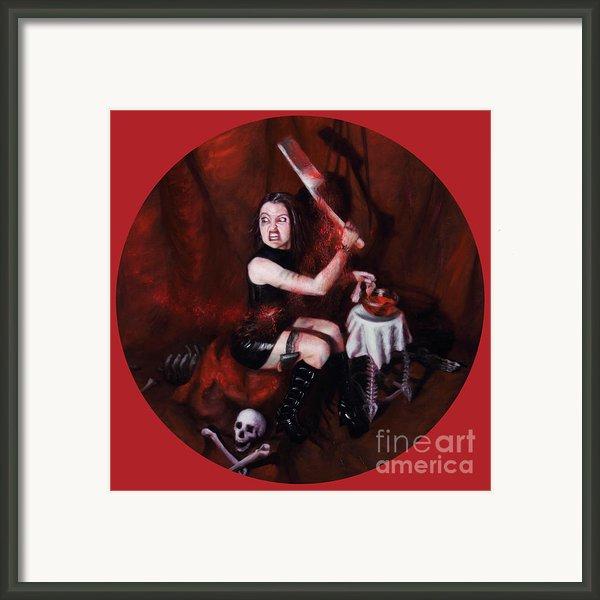 The Fearful Framed Print By Shelley  Irish