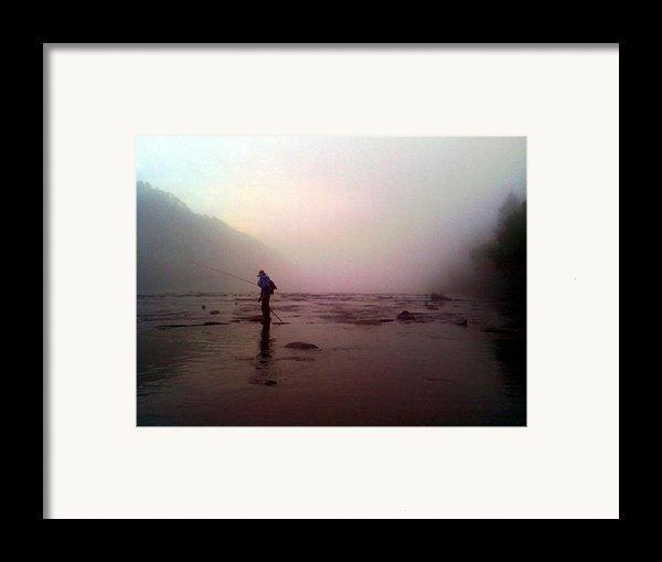 The Fisherman Framed Print By Dwayne Gresham