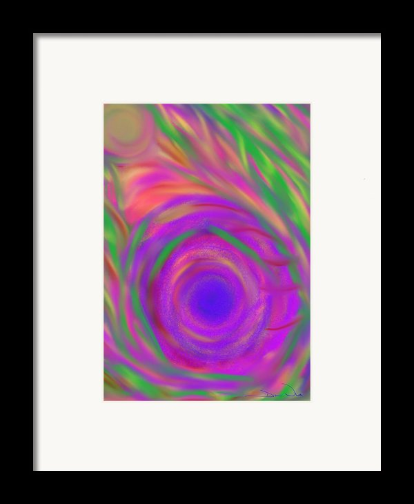 The Flora Is Breathing Framed Print By Daina White