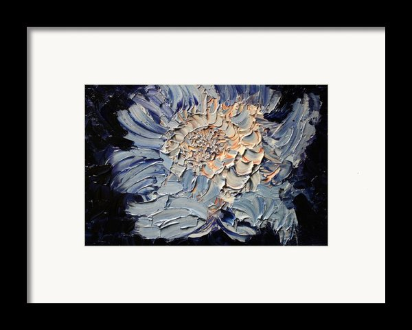 The Flower I Never Sent Framed Print By Michael Kulick
