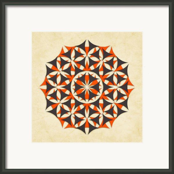 The Flower Of Life 5 Framed Print By Jazzberry Blue