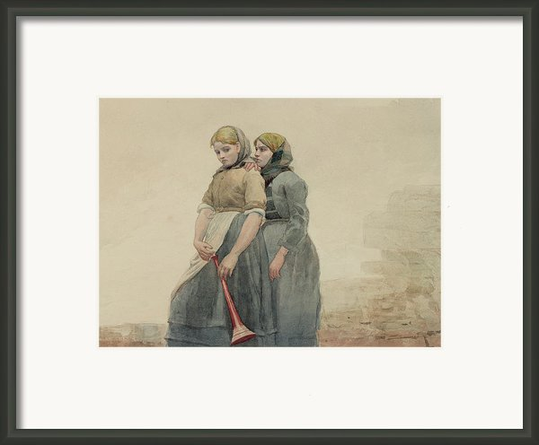 The Foghorn Framed Print By Winslow Homer