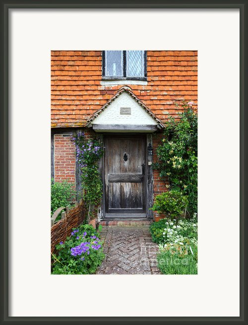 The Front Door Framed Print By James Brunker