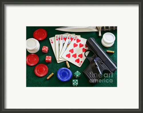 The Gambler Framed Print By Paul Ward