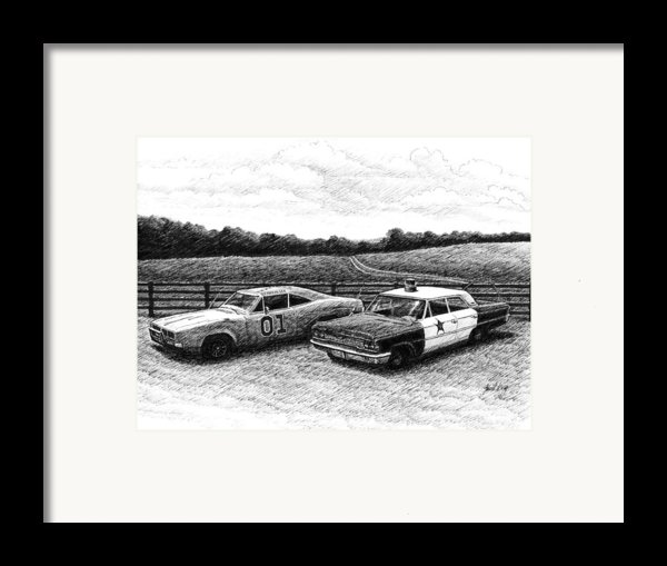 The General Lee And Barney Fife