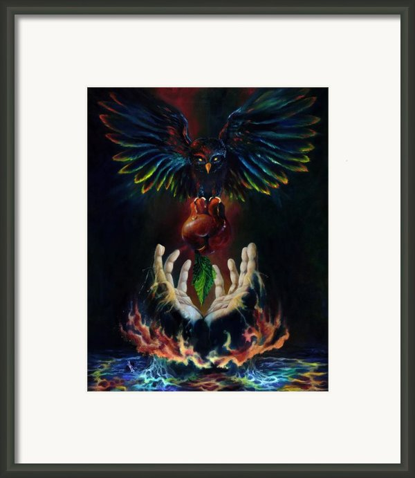 The Gift Framed Print By Kd Neeley
