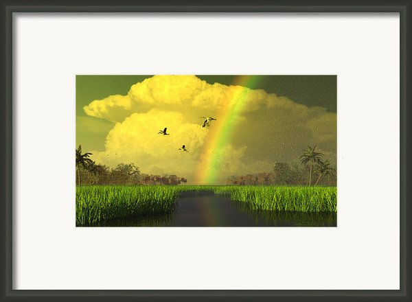 The Gift Of Light Framed Print By Dieter Carlton