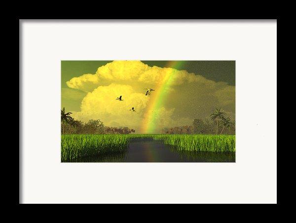 The Gift Of Light Framed Print By Dieter Carlton