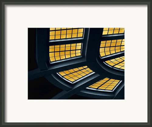 The Glass Ceiling Framed Print By Wendy J St Christopher