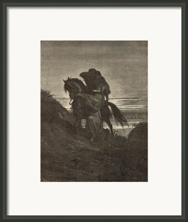 The Good Samaritan Framed Print By Antique Engravings