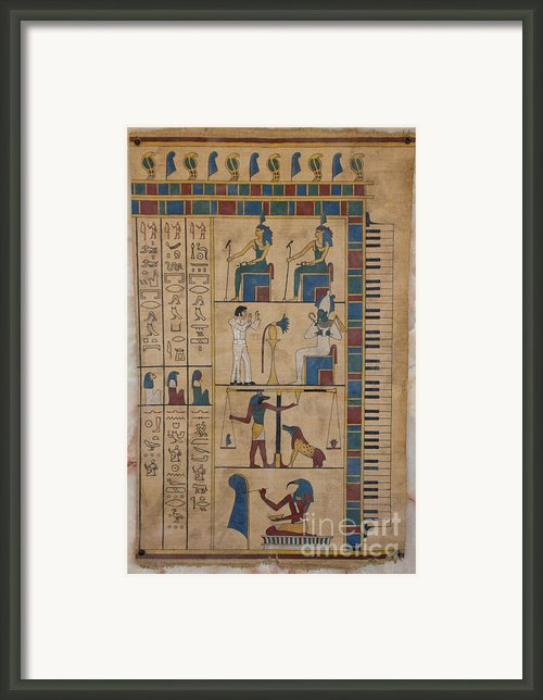 The Graceland Papyrus Framed Print By Richard Deurer