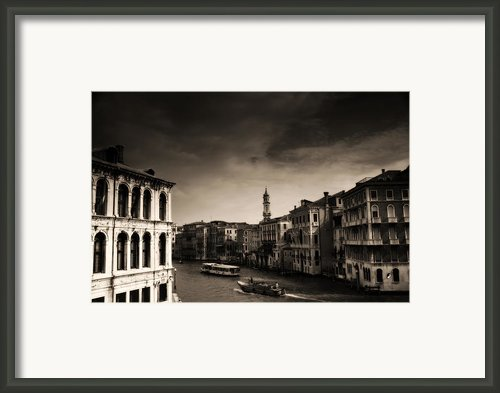 The Grand Canal Framed Print By Aaron S Bedell