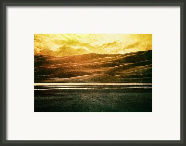 The Great Sand Dunes Framed Print By Brett Pfister
