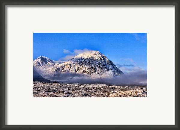 The Great Shepard Of Glen Etive Framed Print By Walter Hampson