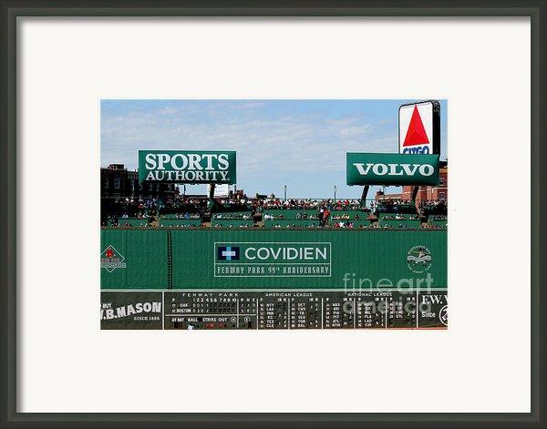 The Green Monster 99 Framed Print By Tom Prendergast