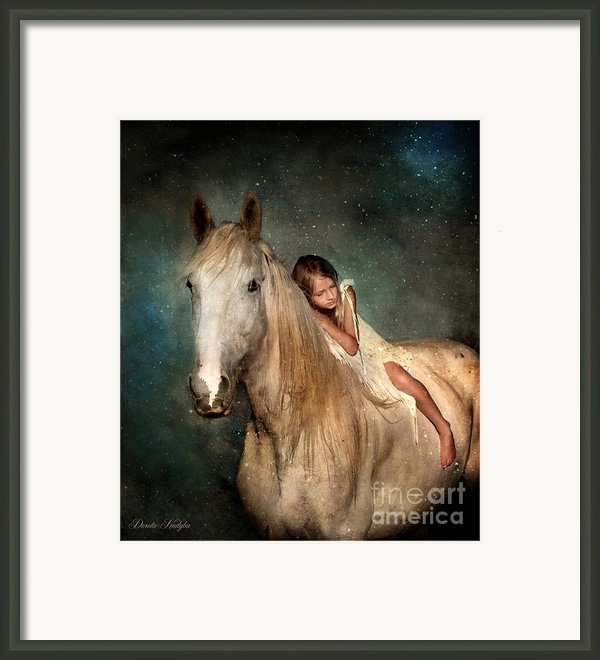 The Guardian Angel Framed Print By Dorota Kudyba