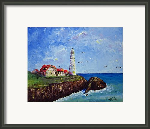 The Guardian Framed Print By Dottie Kinn