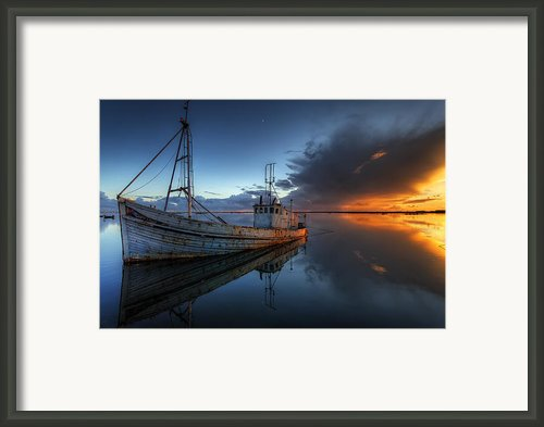 The Guiding Light Framed Print By Nigel Hamer