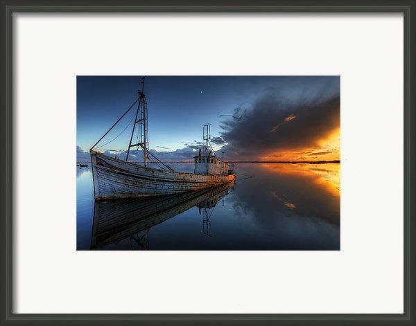 The Guiding Light Framed Print By Nigel Hamer